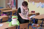 Čtení s žabákem Kvakem