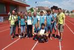 David Sklenář drží diplom, vyhráli jsme krajský čtyřboj 2012